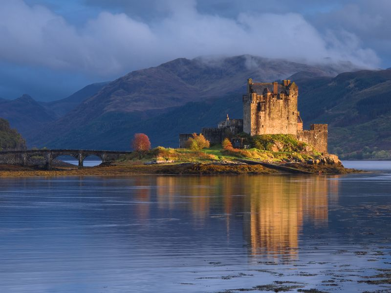 Romantikou Anglie A Skotska Letecky Skotsko