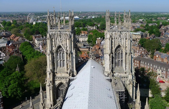 Katedrála v Yorku -