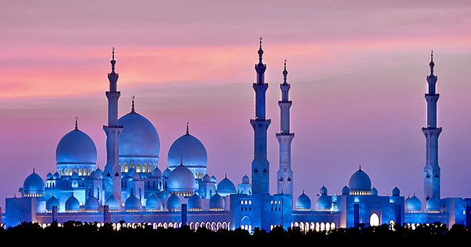 Abu Dhabi, Velká mešita Šejka Zayeda