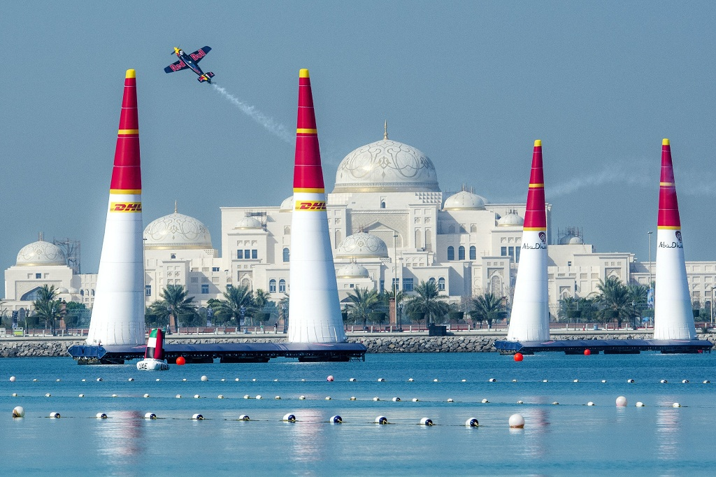 Red Bull air race, Abu Dhabi