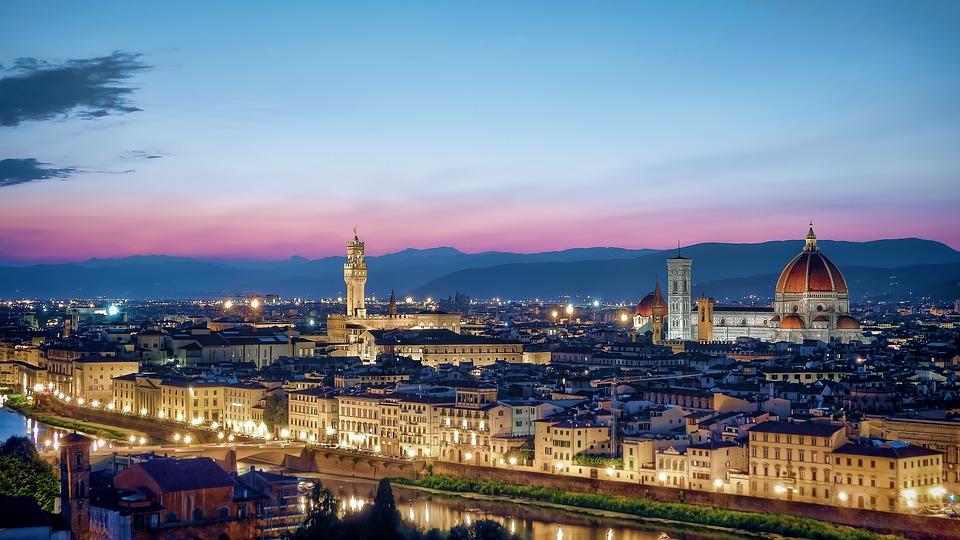Florencie - panoráma