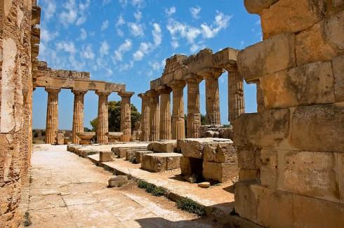 Selinunte, Sicílie -