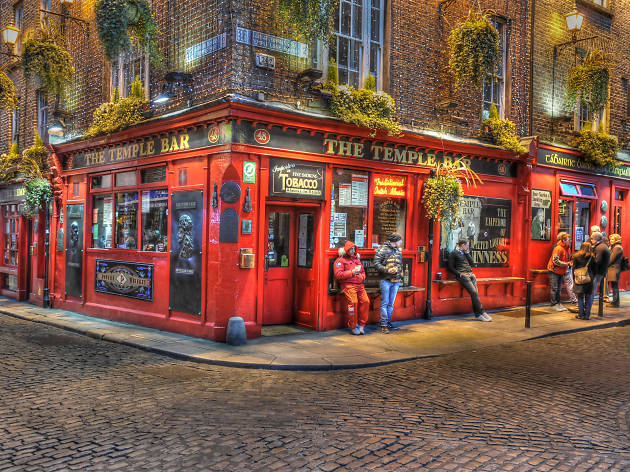 Dublin - čtvrť Temple Bar
