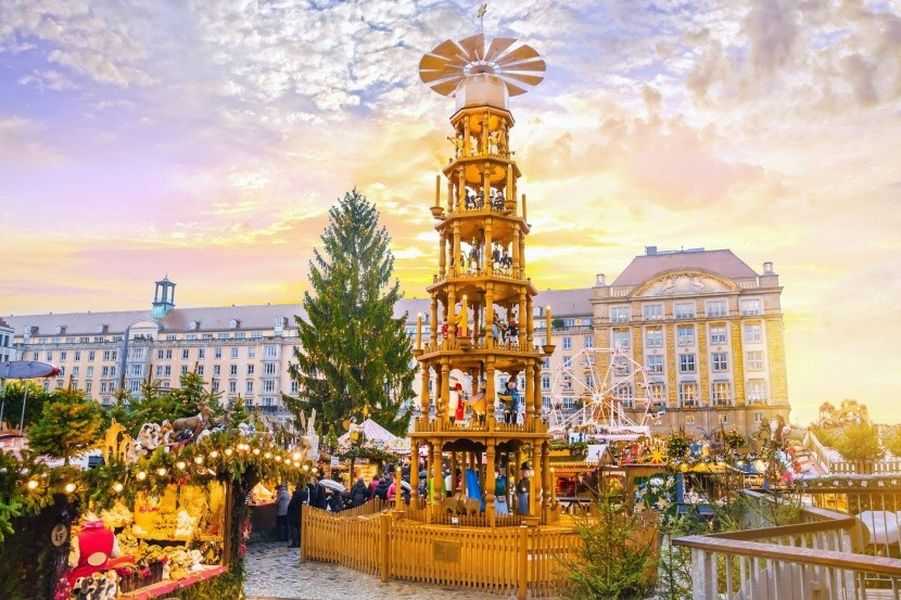 Advent, Drážďany