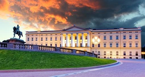 Královský palác Oslo -