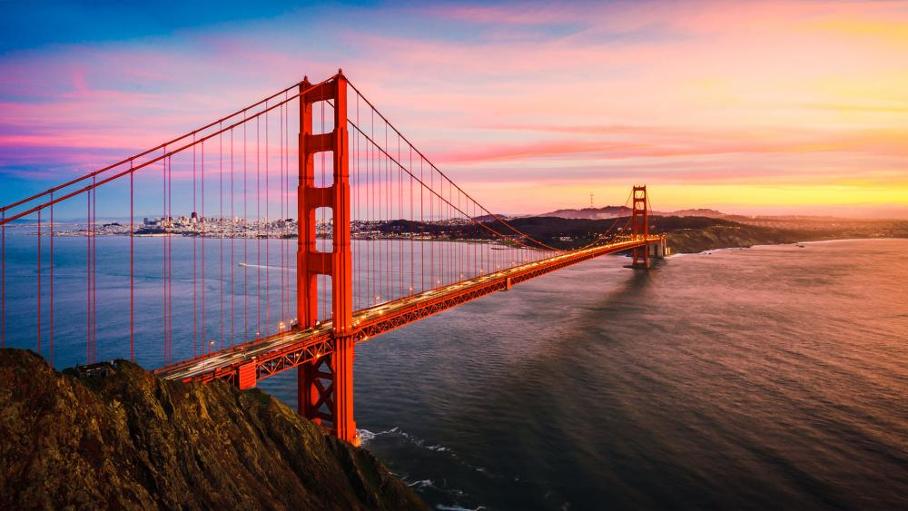 San Francisco - Golden Gate Bridge -