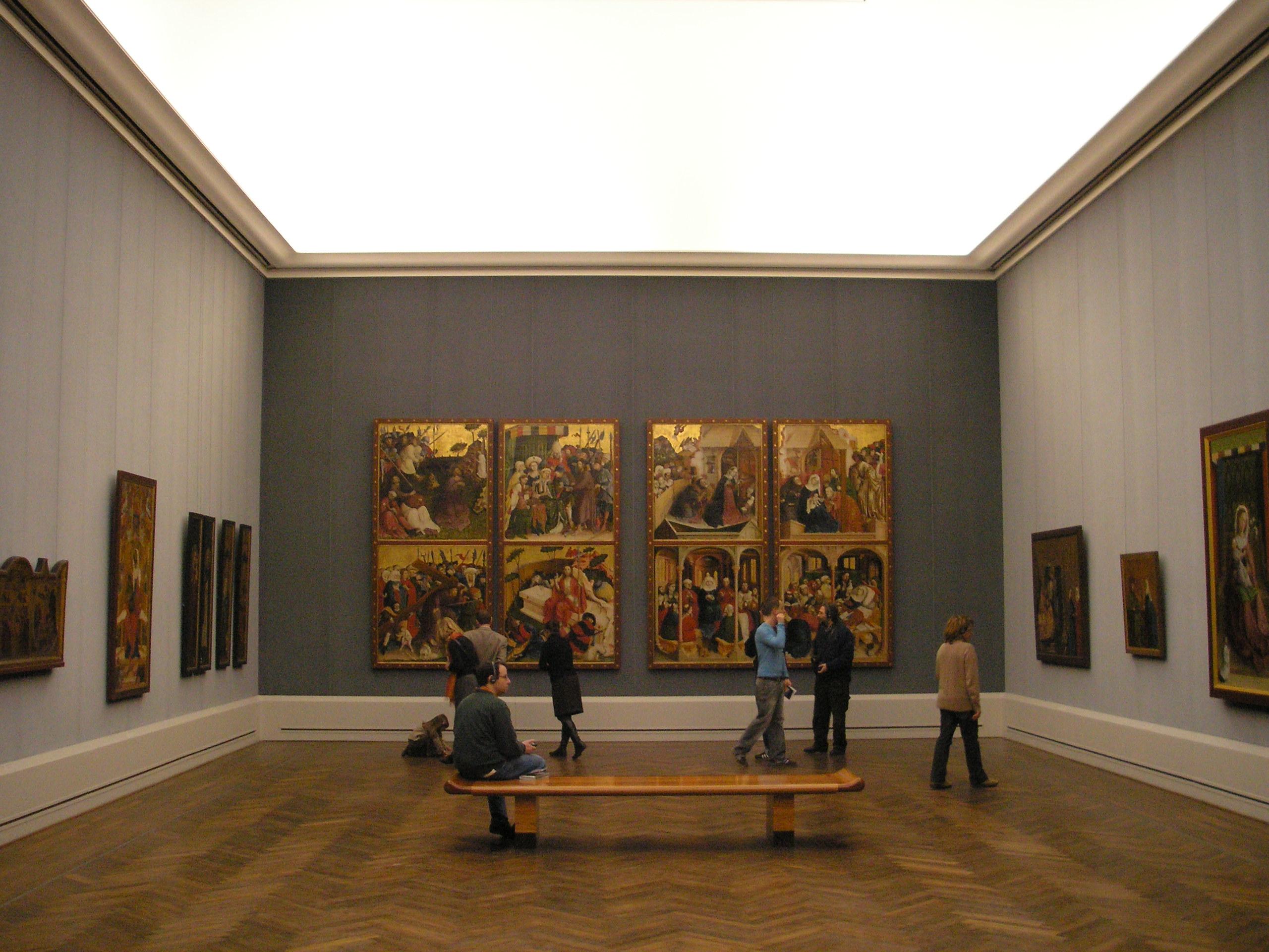 Státní galerie Gemäldegalerie Berlin -