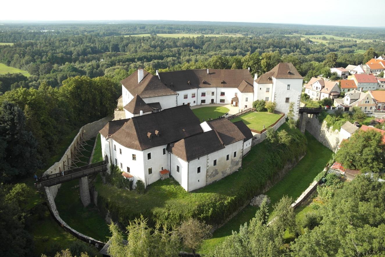 Hrad Nové hrady, jižní Čechy -