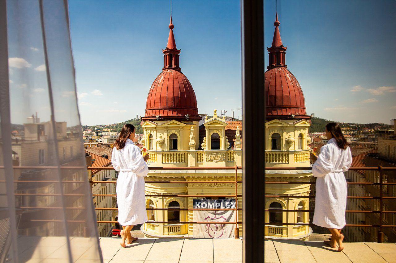Hotel Amarilis, Praha, panoramatický výhled