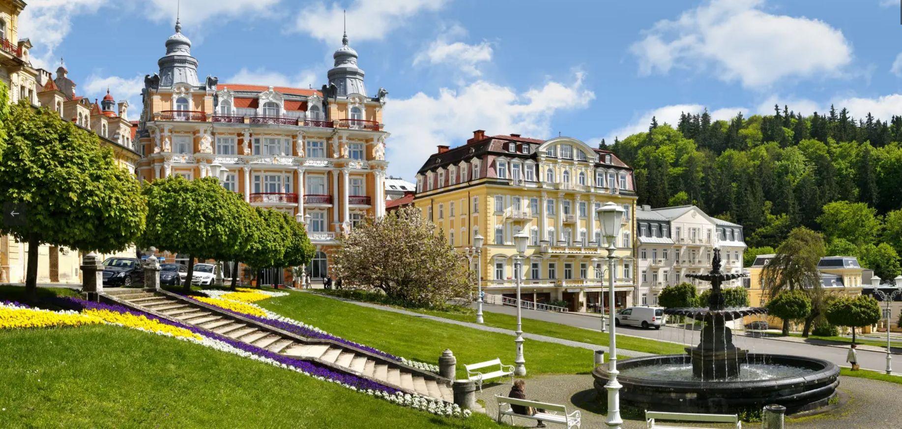 Hotel Hvězda, Mariánské Lázně, hotel