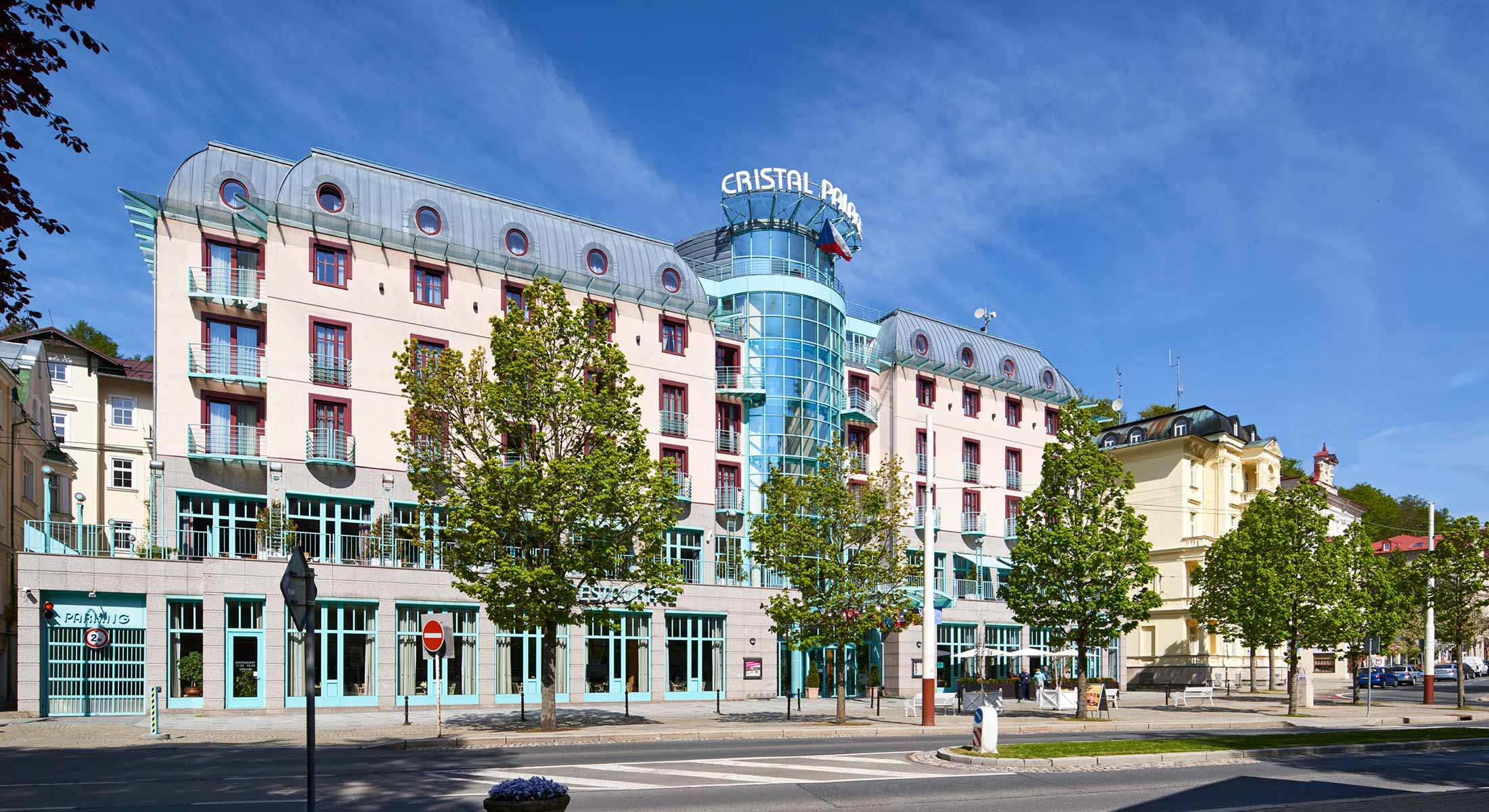 Hotel Cristal, Mariánské Lázně, hotel