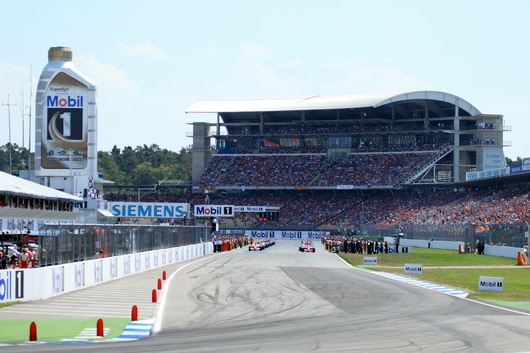 Hockenheimring - start