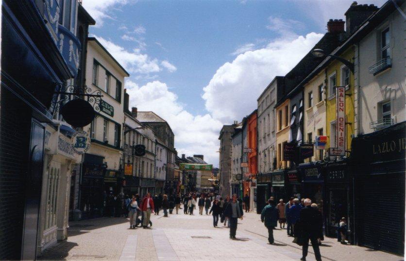 Irsko - galway - kulturní a univerzitní centrum irska