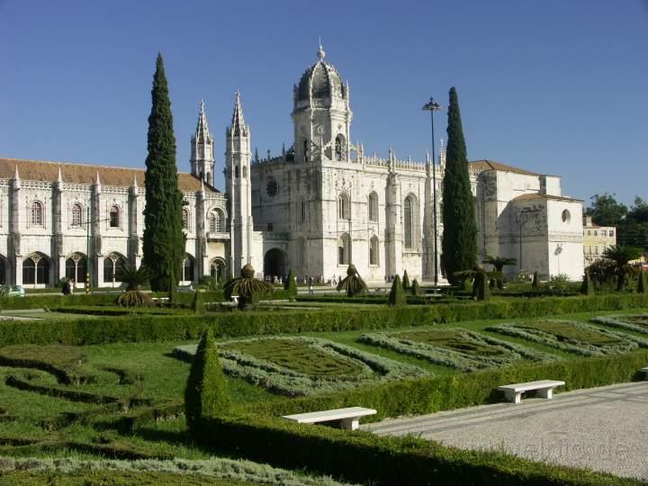Lisabon, Belem - klášter Sv. Jeronýma