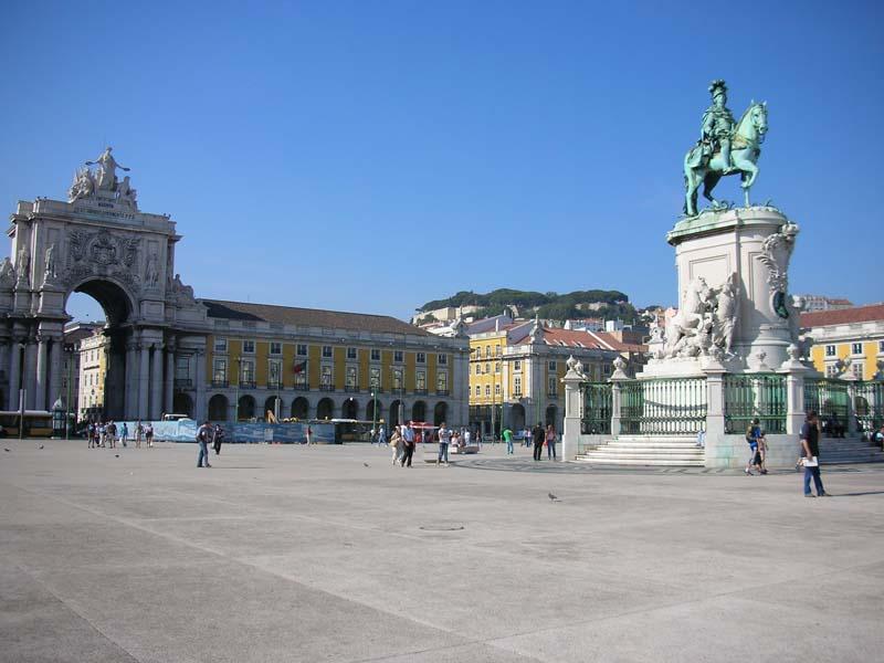 Lisabon, Praca do Comercio