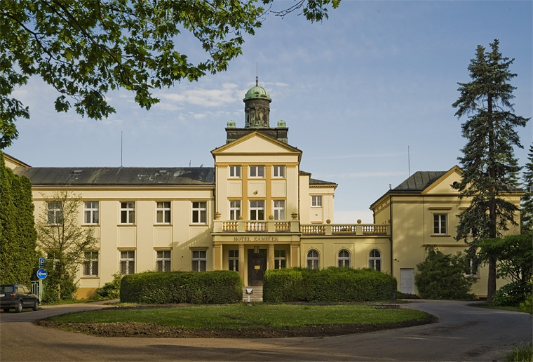 poděbrady - hotel Zámeček