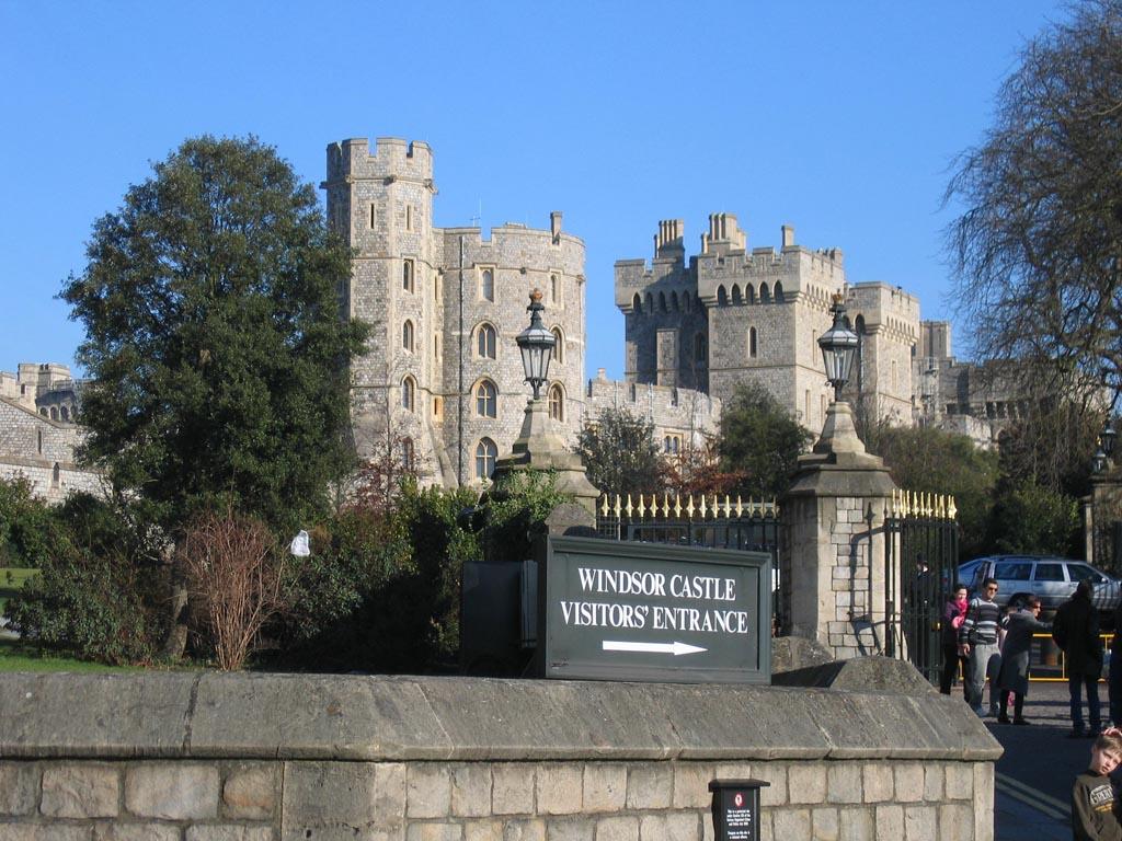 Windsor - malé, ale výnamné město Anglie