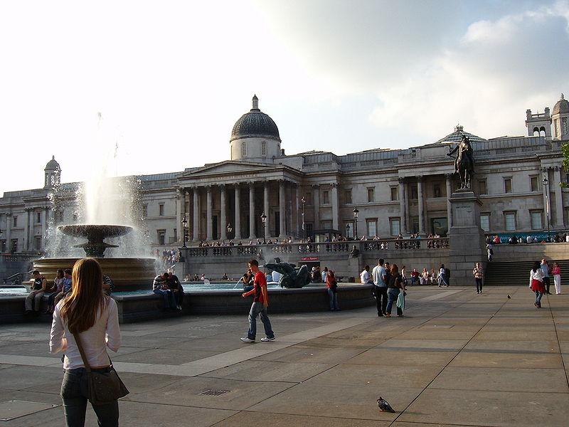 Londýn - Trafalgarské náměstí