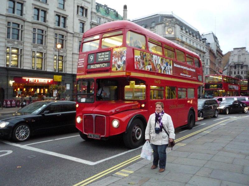 Anglie - londýn - double decker bus