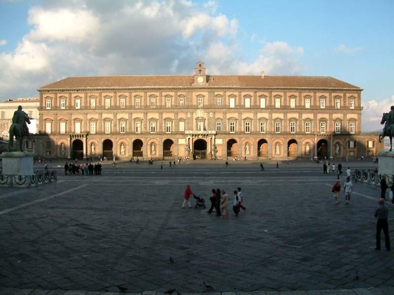 Neapol - Královský palác