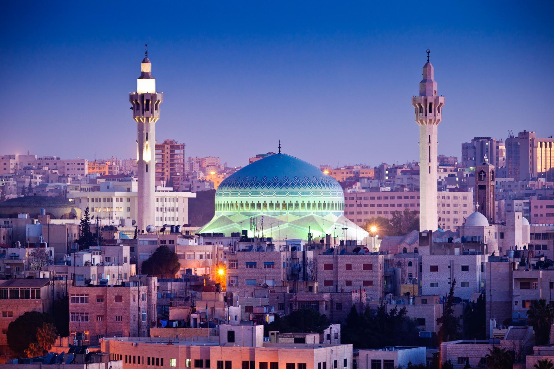 Ammán - mešita krále Abduláha