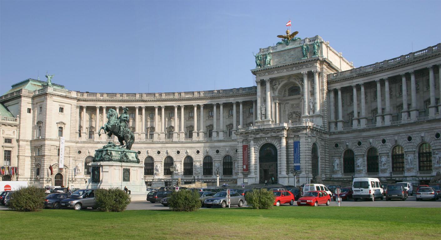 Vídeň, Hofburg