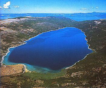 Vranské jezero -