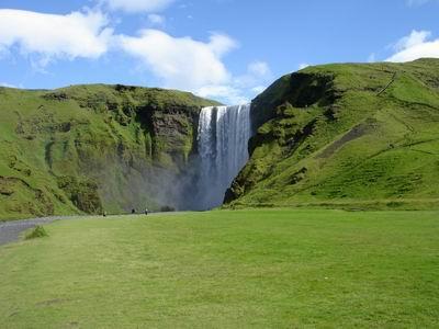 Island - země tisíců vodopádů, Skogafoss - 409-skogafoss.jpg