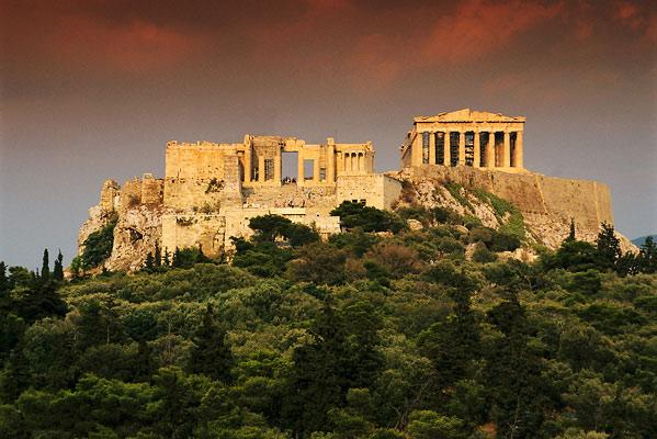 Akropolis - Athény