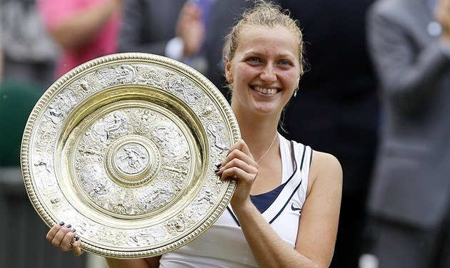 Petra Kvitová, vítězka Wimbledonu 2011