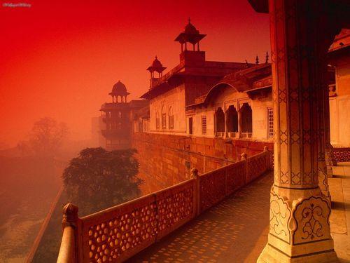 pevnost - Agra