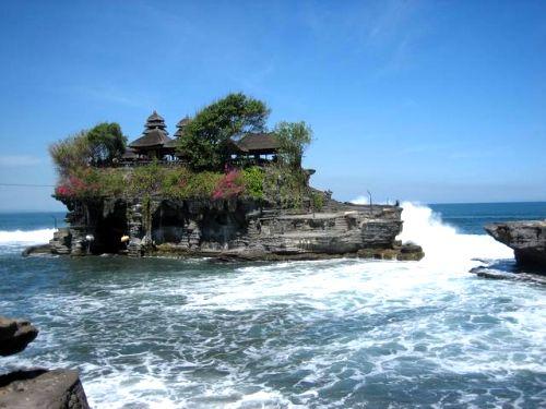 chrám Tanah Lot - Bali