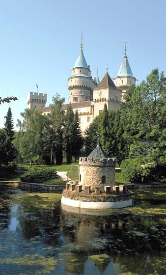 Bojnice - zámek