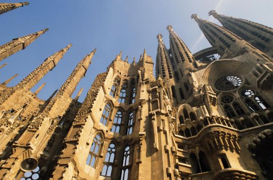 katedrála - Sagrada Familia
