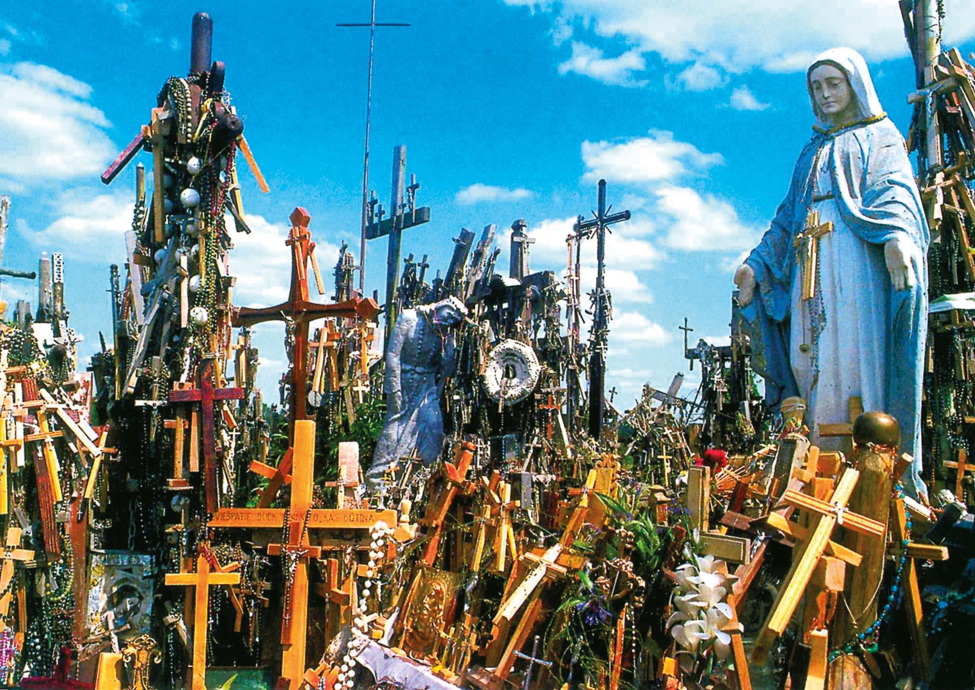 Litva - Hora křížů