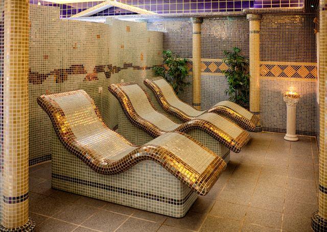Hotel kaskády sliač lázně a termální lázně