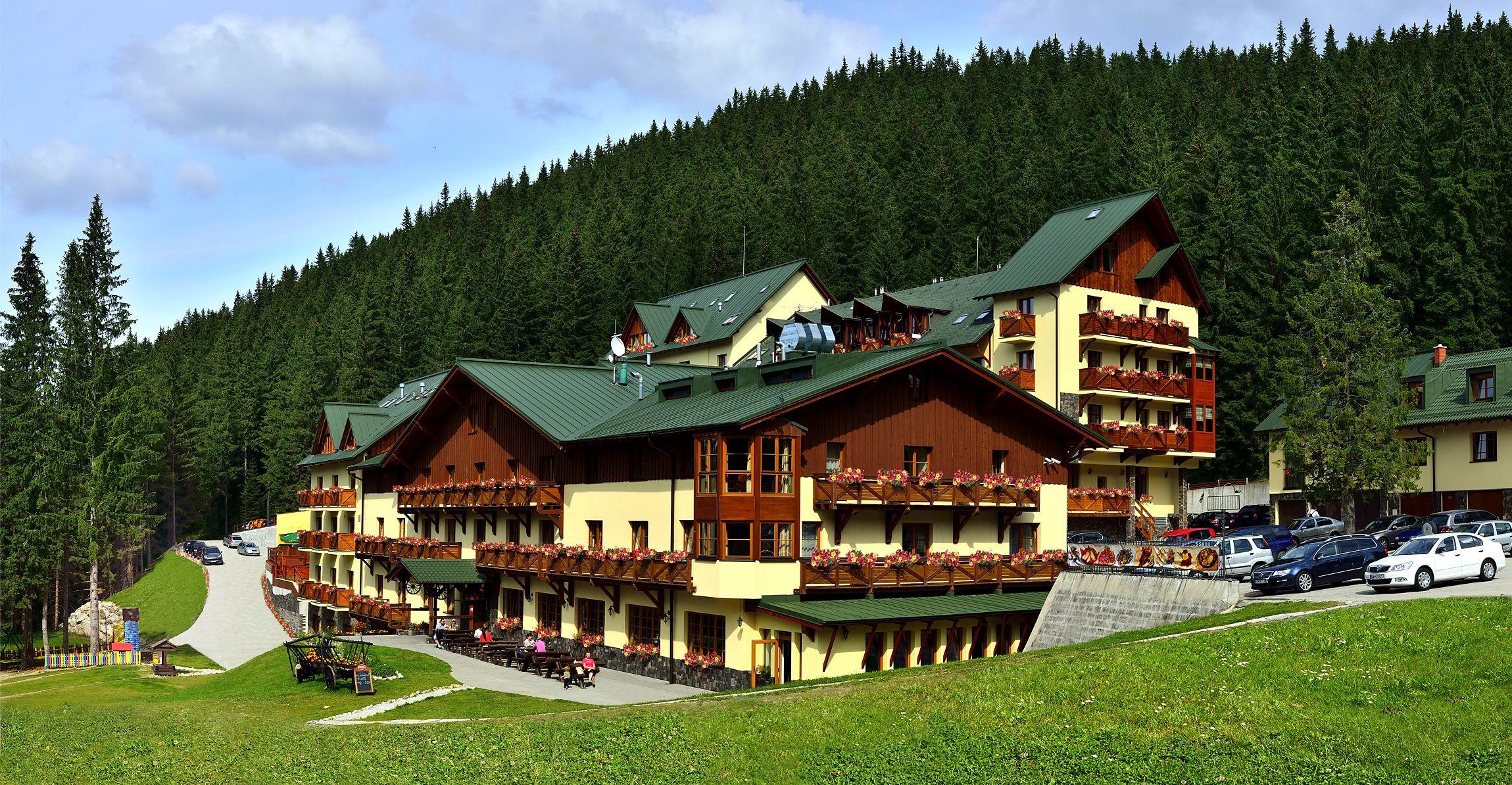 Ski wellness hotel Družba - letní