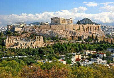 Athény, panoráma