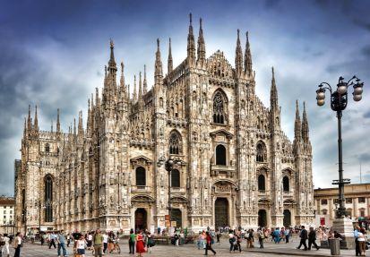 Miláno - gotický dóm