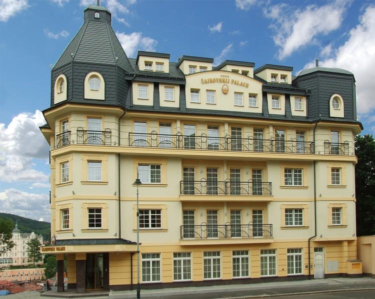 Hotel Čajkovskij, palace