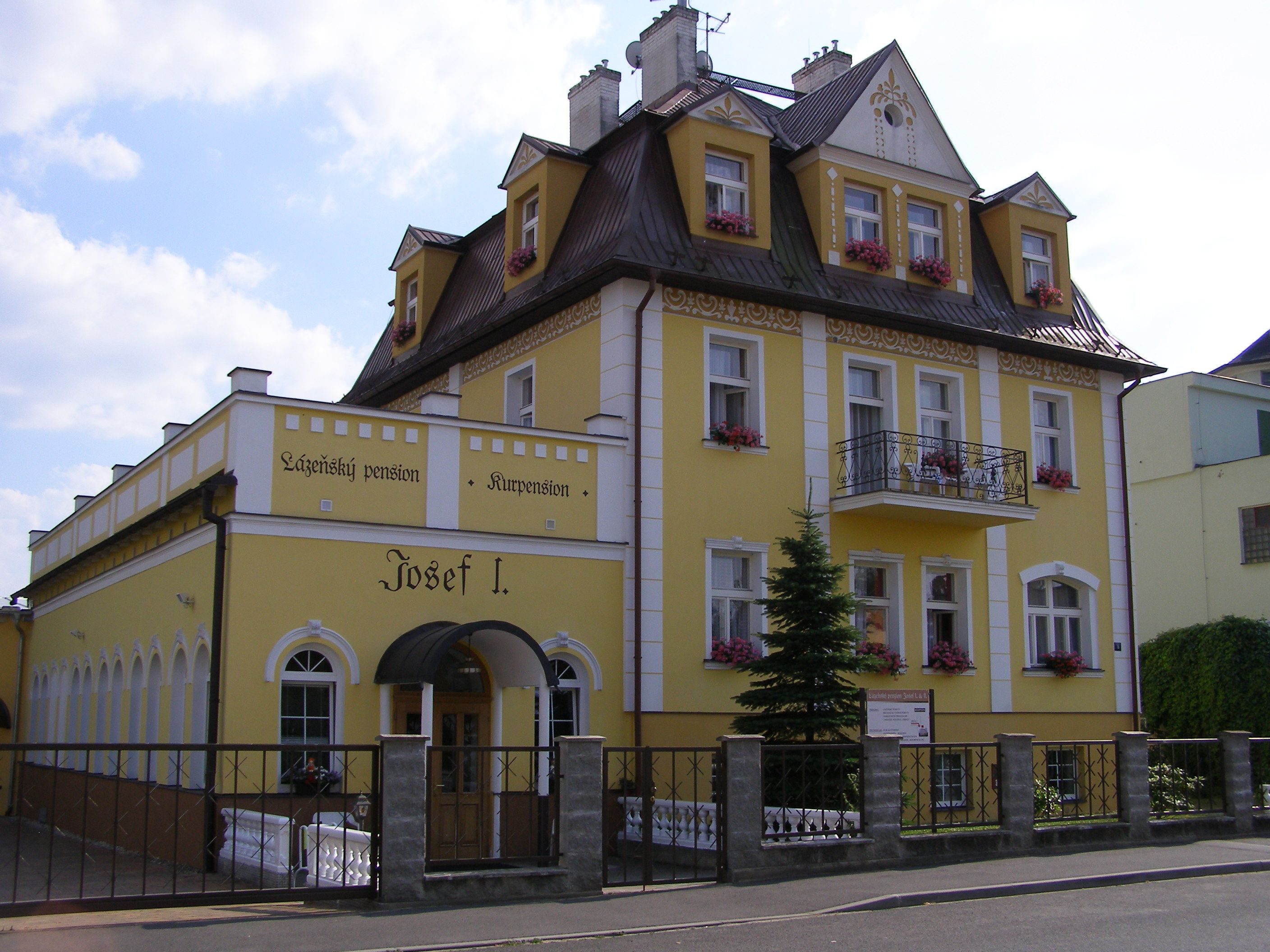 Pension Josef, Josef I.