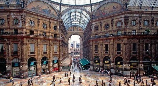Miláno - Galerie Viktora Emanuela II.