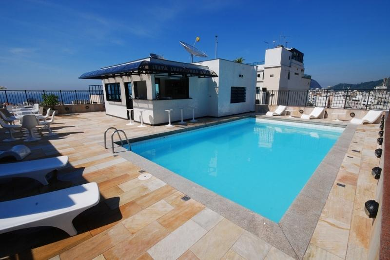 Hotel Copacabana Mar - bazén