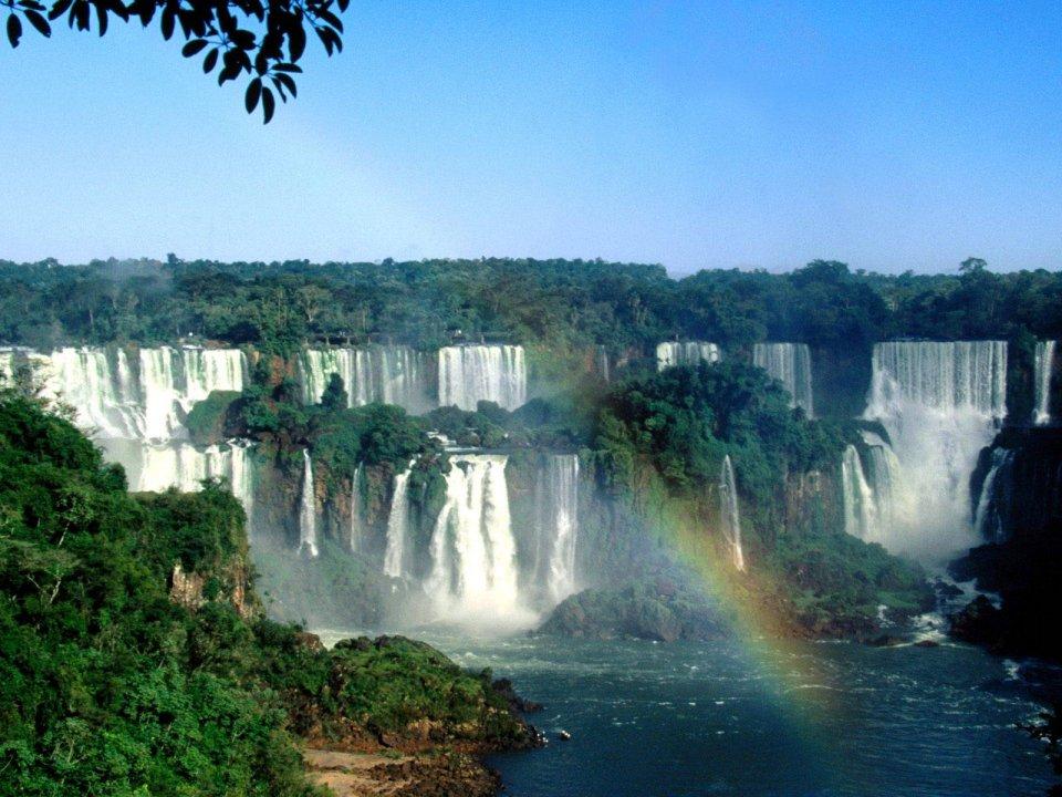 Vodopády Iguacu -
