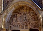 fasáda klášterního kostela, Conques -