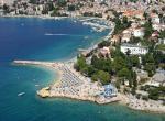 Hotel Selce - pláž -