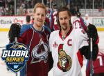 Colorado Avalanche - Ottawa Senators, Global Serie Stockholm