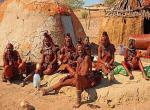 Namibie, Himbské ženy