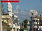 Machapuchre a Annapurna z Pokhary - Doslova na dosah ruky budete mít himalájské velikány z ulic Pokhary. Foto Stanislav Vojtěch, říjen 2018