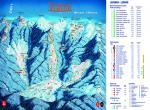 terchová, Ski mapa Vrátna